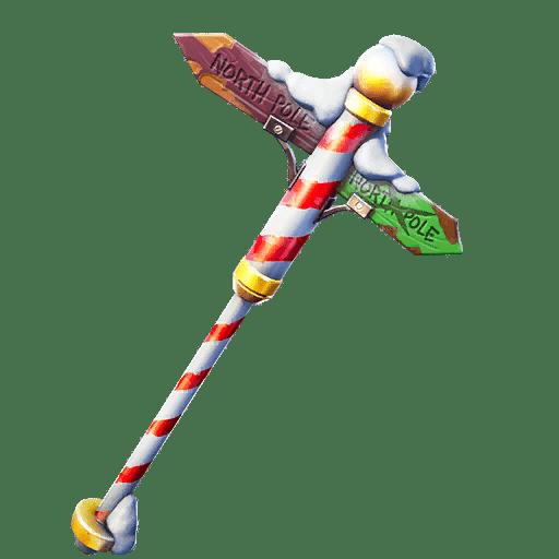 Fortnite v11.20 Leaked Pickaxe - Polar Poleaxe