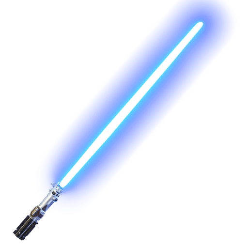Fortnite Blue Lightsaber