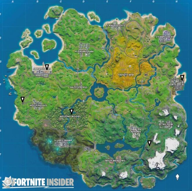 Fortnite Ice Box Locations