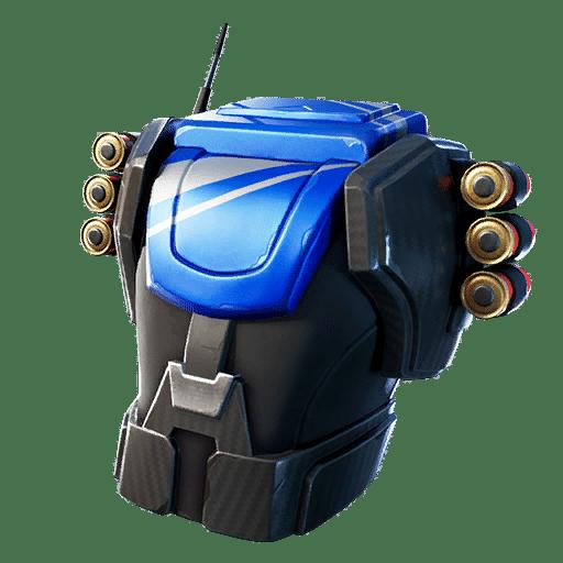 Fortnite Reliant Blue Back Bling
