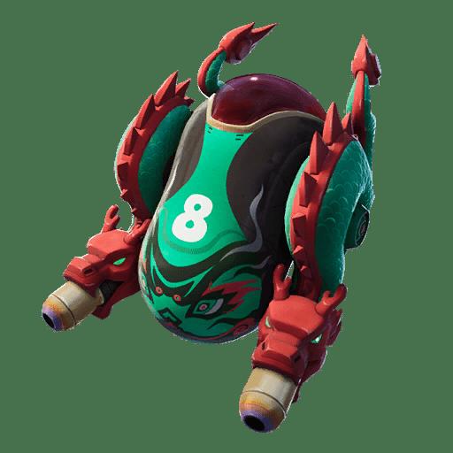 Fortnite v11.40 Leaked Back Bling - Dragon Guard