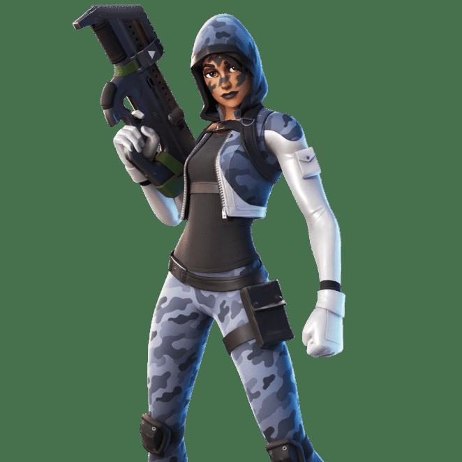 Fortnite v11.40 Leaked Skin - Hailstorm
