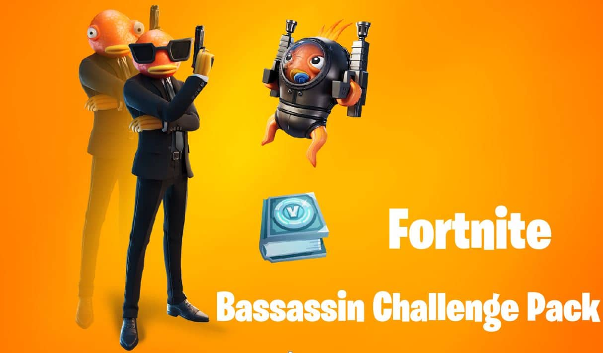 Fortnite Bassassin Challenge Pack Available Now