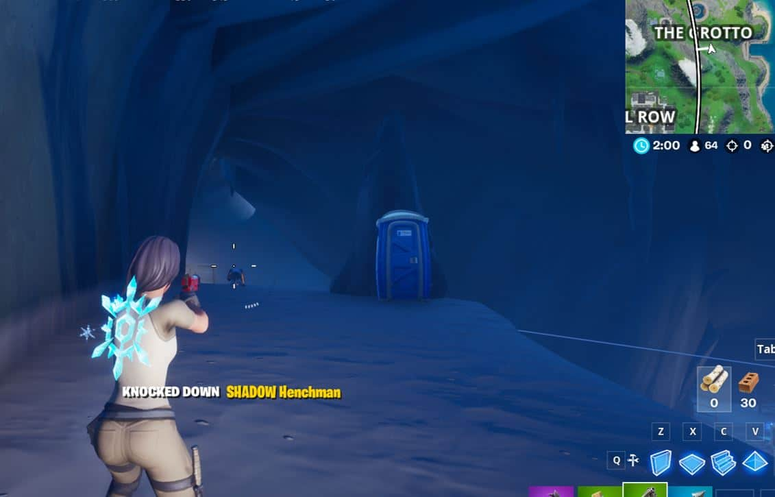 Fortnite: How to Knock Down a Henchman