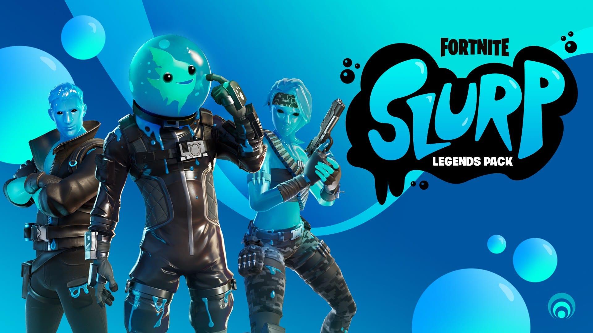 Fortnite Slurp Legends Pack