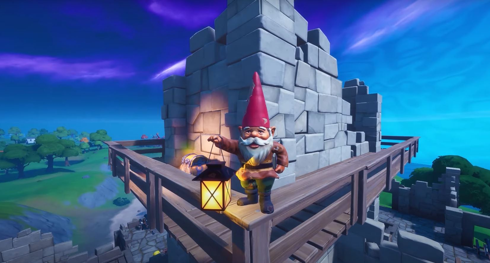 Fortnite Camp Cod Fort Crumpet Gnomes