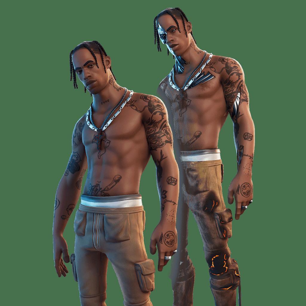 Fortnite v12.40 Leaked Skin - Travis Scott