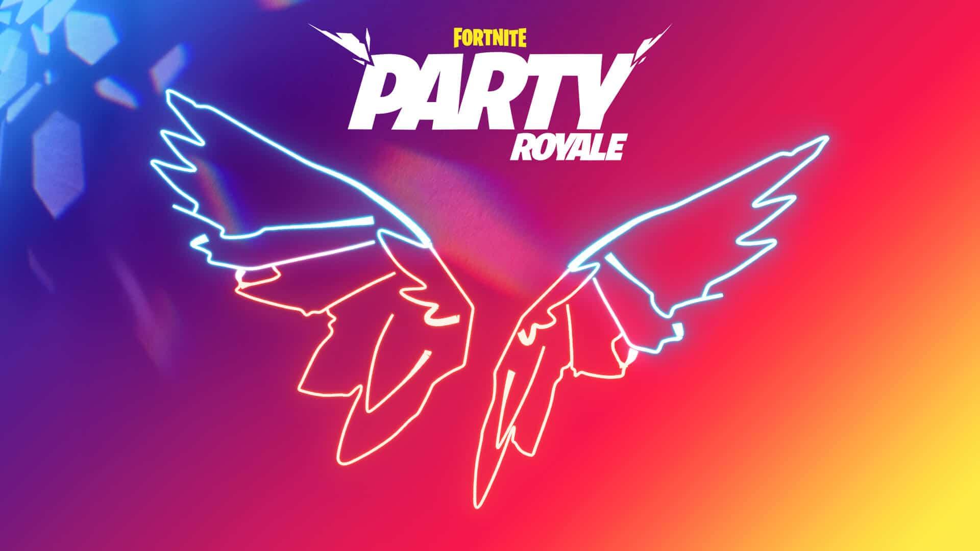 Fortnite Free Neon Wings Back Bling