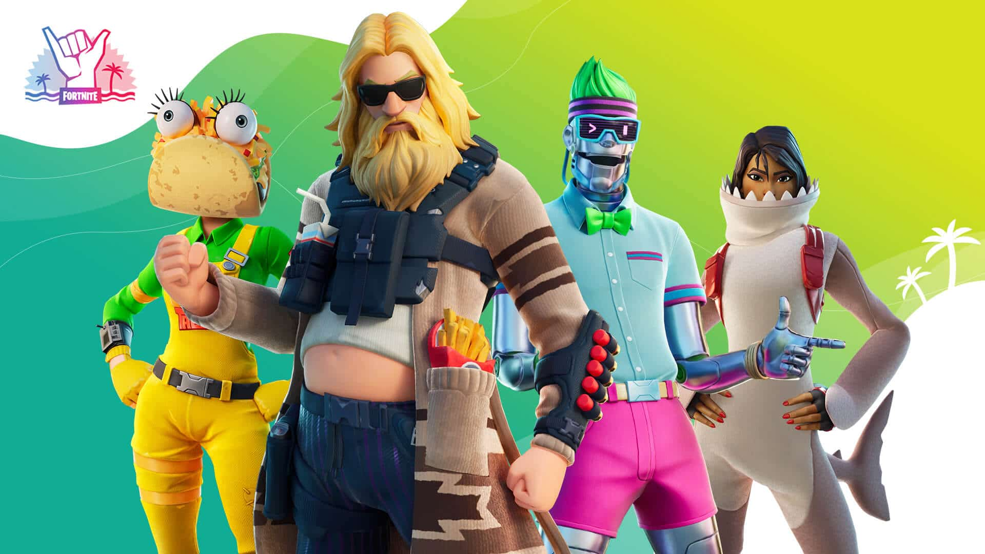 Fortnite Summer Splash Skins