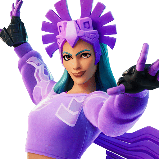 Sunbird purple skin style