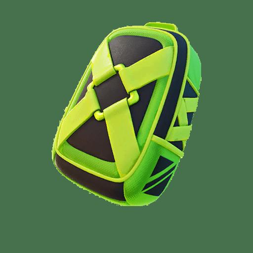 Fortnite v13.20 Leaked Back Bling - Impact Green