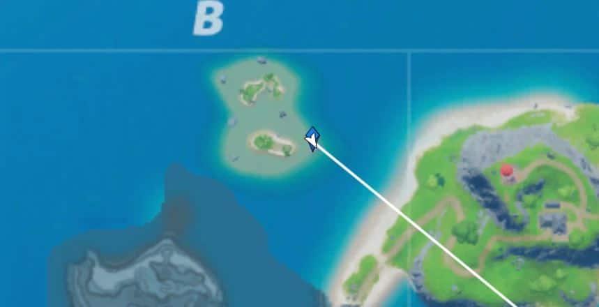 fortnite ubicación de contenedor nuclear