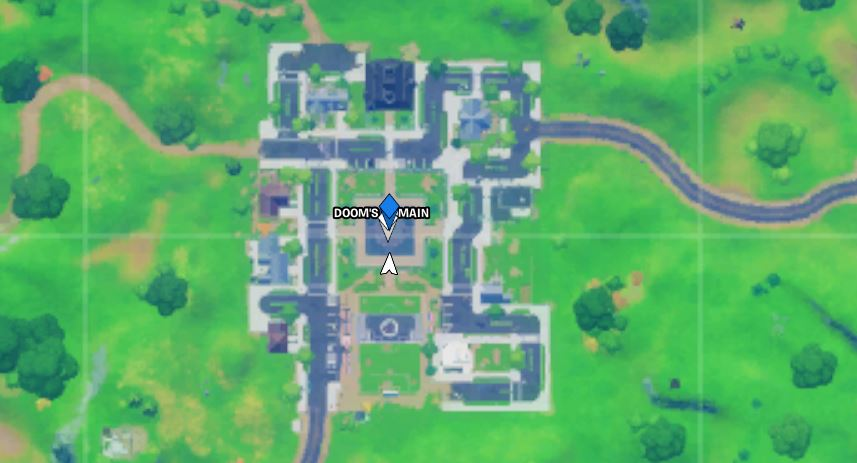 Doctor Dooms Statue Fortnite Location