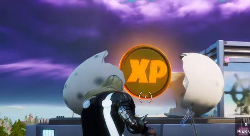 Gold XP Coin season 4 week 3 Fortnite