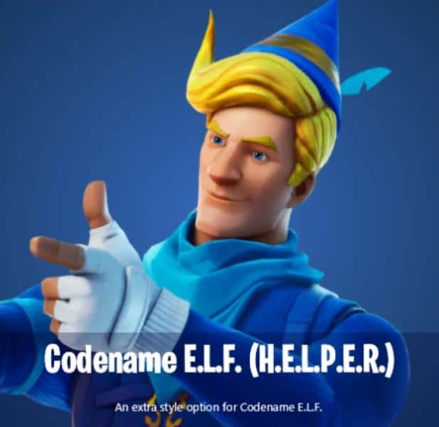 Codename E.L.F. H.E.L.P.E.R. Blue Skin Style
