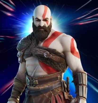Kratos Skin in Fortnite
