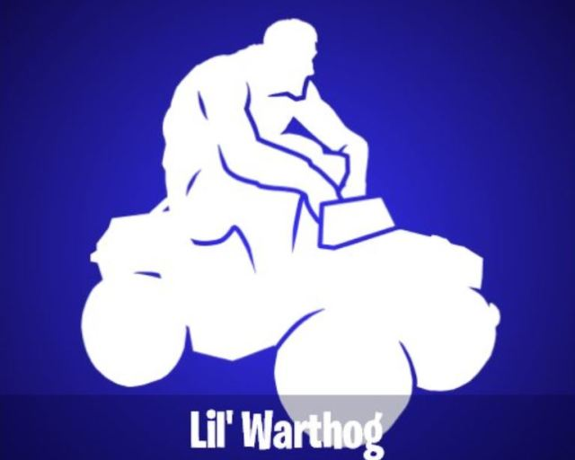 Lil' Warthog Fortnite Emote