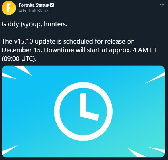 New Fortnite Update