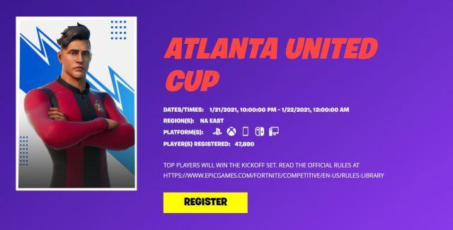 Atlanta United Fortnite Cup
