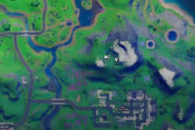Fortnite Cole NPC Location 1