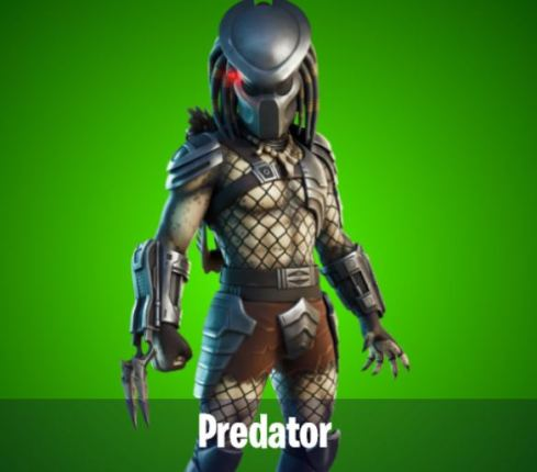 Predator Boss NPC Fortnite