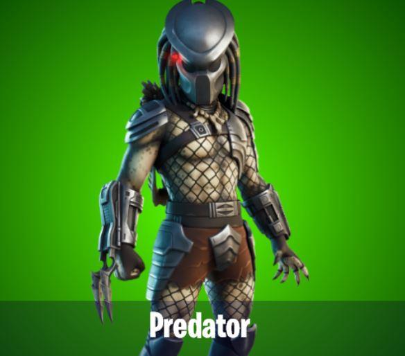Predator Boss NPC Fortnite