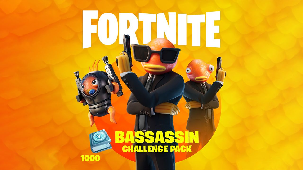 The Bassassin Challenge Pack is rolling out now