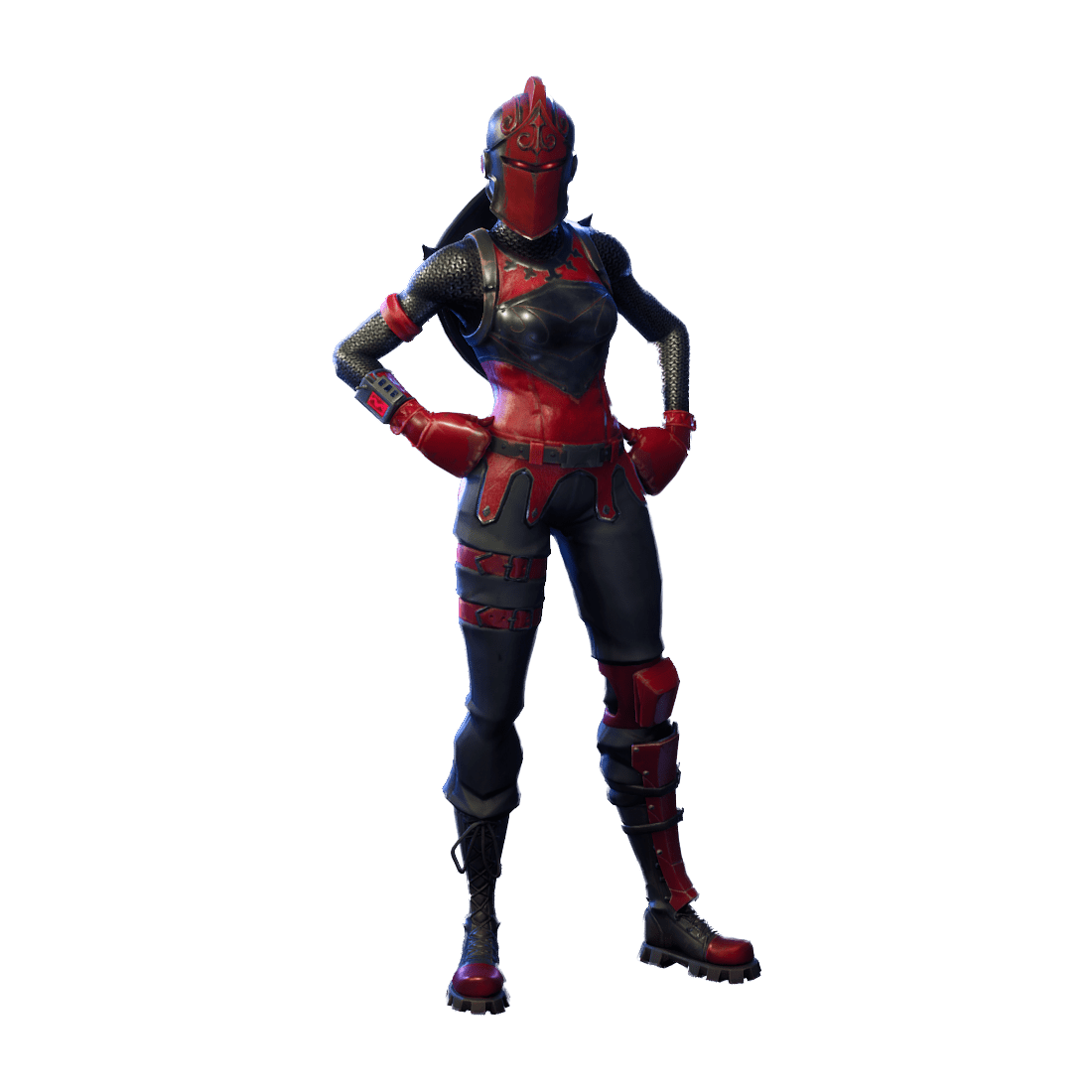 featured - red fortnite skin