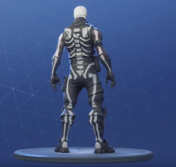 skull trooper skin 3 - fortnite arka plan hd