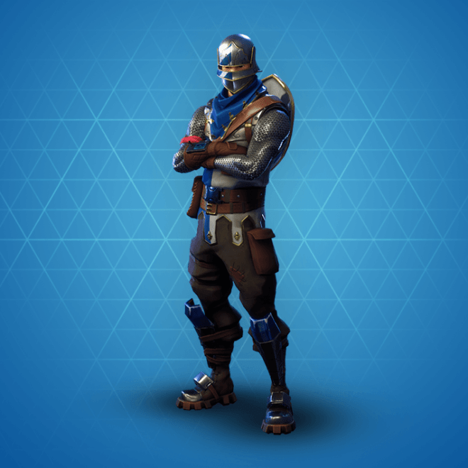 Blue Squire Skin