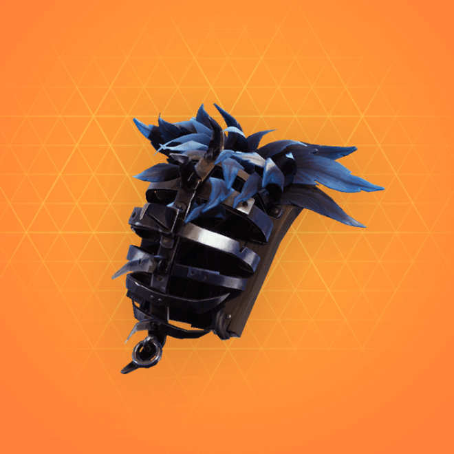 Iron Cage Back Bling