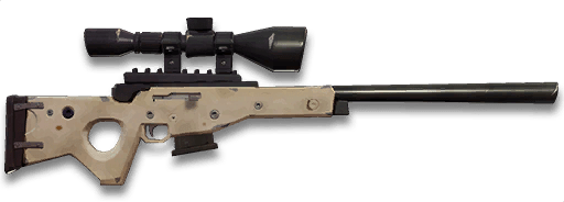 bolt action sniper rifle