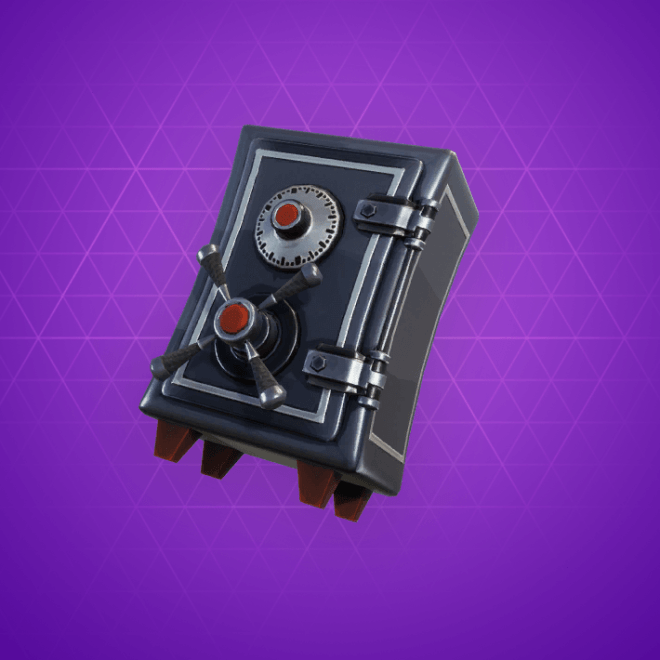 Strongbox Back Bling