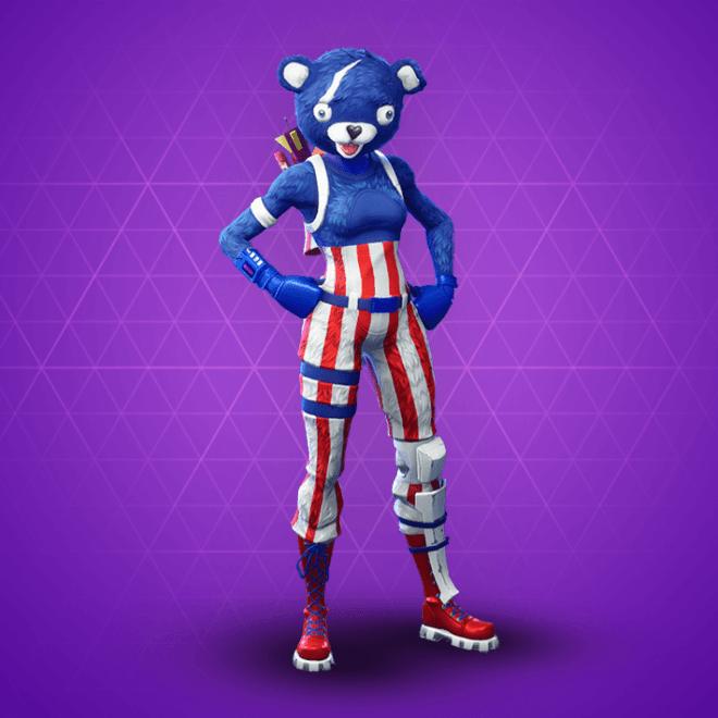 Fireworks Team Leader Skin