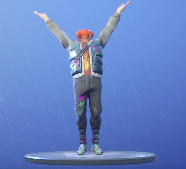 Praise The Tomato Dance Emotes Fortnite Skins
