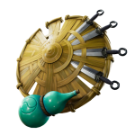 Kunai Shield Back Bling
