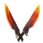 Burning Blades Pickaxe