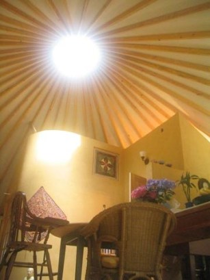 30 foot yurt interior