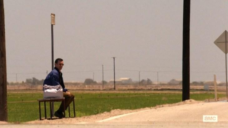 Don Draper, befreit von (fast) allen irdischen Besitztümern; Foto: Lionsgate TV