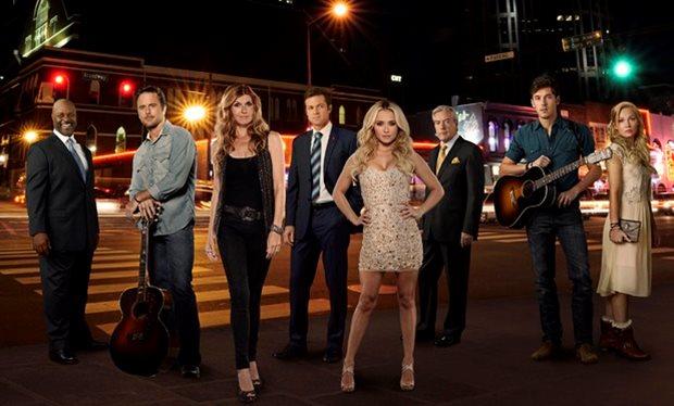 Über solche Szenen stolpert man im Straßenbild von Nashville ständig: Männer mit Gitarren, Frauen mit langen Beinen; Foto: ABC