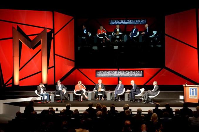 Weitestgehend gelassen: die Teilnehmer des TV-Gipfels