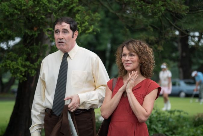 Meet the Myers: Davids Eltern Sam (Richard Kind) und Judy (Jennifer Grey)