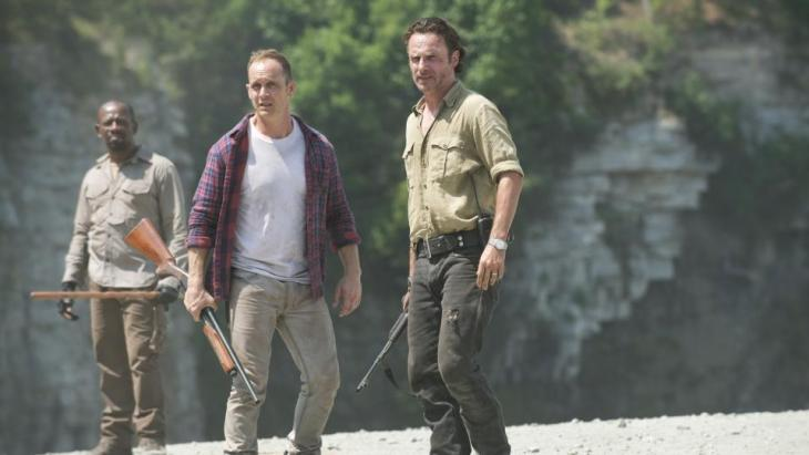 Men on a (doomed) mission. Foto: Gene Page/AMC