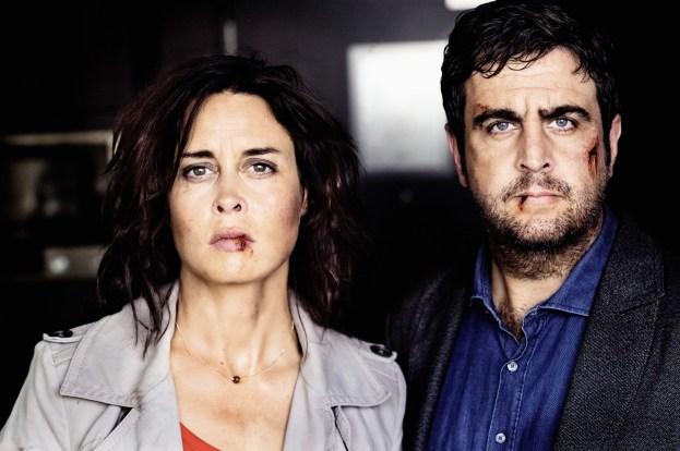 Kommen sie mit blauem Auge davon? Julia Lehmann (Susanne Wolff) und ihr Mann Jochen (Bastian Pastewka)