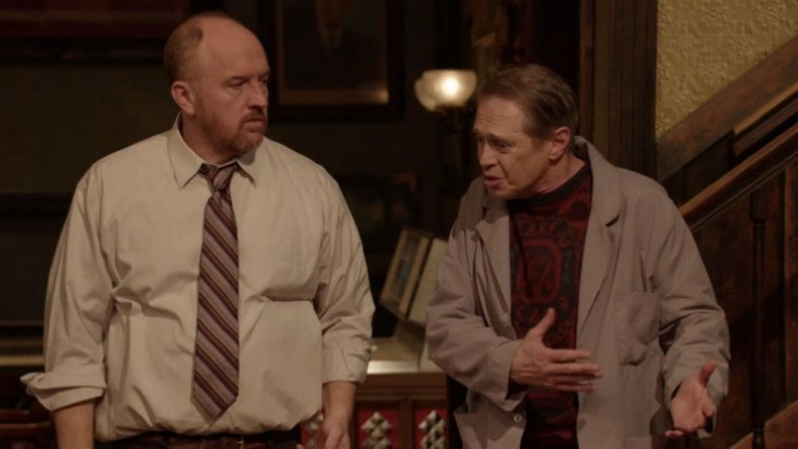 """Louis C.K. und Steve Buscemi sind """"Horace and Pete"""" © The New Yorker"""