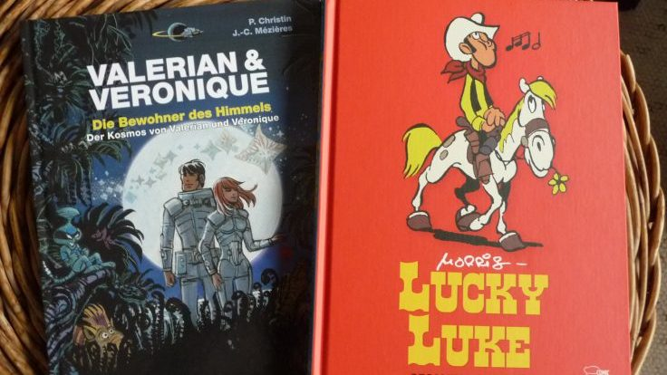 Valerian und Lucky Luke