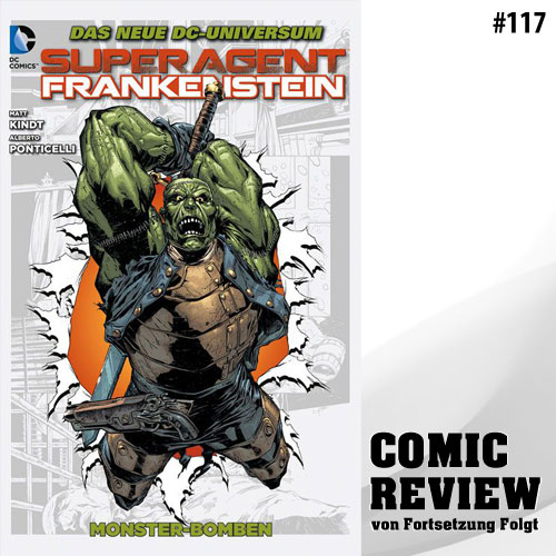 Superagent Frankenstein Bd. 2: Monster-Bomben