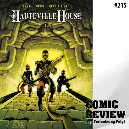 CRFF215 - Hauteville House: Band 1: Zelda