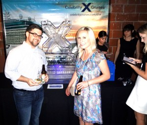 Barbara and Stephen enjoying the awesome Celebrity Cruises DFW offerings