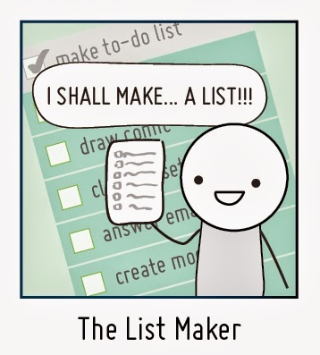 Procrastinator Profile The List Maker